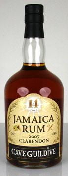 Cave Guildive Jamaica Rum Clarendon 2007 14 yo