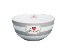 """Happy Bowl """"I love my Cat"""""""