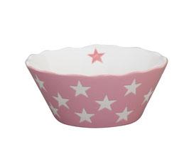 Small Happy Bowl Rosa mit Sternen