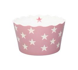Medium Happy Bowl Rosa mit Sternen