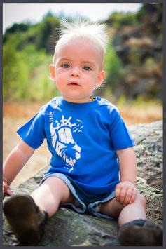"FH Baby Shirt ""State"" cobalt blau - Jungen -"
