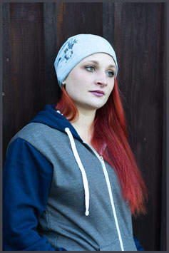 "FH Beanie ""State"" heather grau - Unisex -"