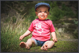 "FH Baby Shirt ""State"" fuchsia - Mädchen -"