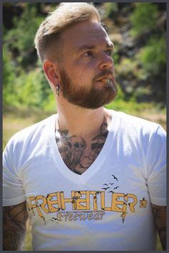 """FH Shirt """"Logo Birds"""" weiß - Männer -"""