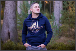 "FH Hoodie ""Classic"" navy - Unisex -"