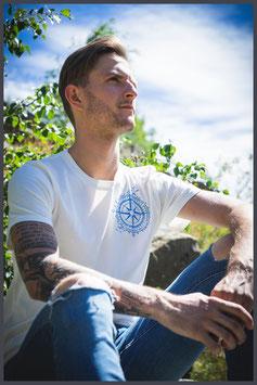 """FH Shirt """"Windrose"""" st.wa.weiß - Männer -"""
