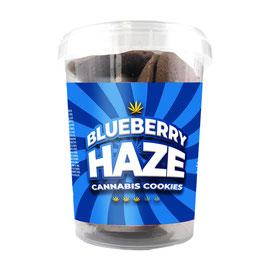 Blueberry Haze Cannabis Kekse THC frei 150g