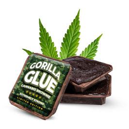 Gorilla Glue Cannabis Brownie XL 70g THC frei