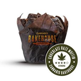 Cannabis Chocolate Haze Muffin 100g THC frei