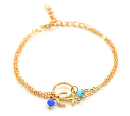 Chicago Anchor Anklet