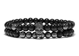 Gleamy Skull Bracelet