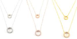 Porto Circle Choker Necklace