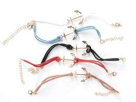 San Francisco Vintage Anchor Bracelet