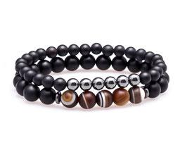 Marble Pearl Bracelet