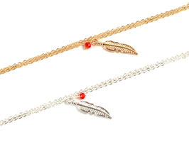 Rio Feather Anklet
