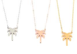 Cannes Palm Necklace