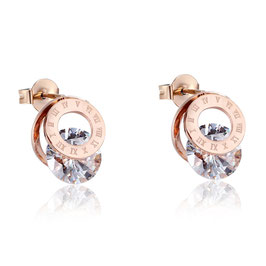 Rome Earrings Ed. 02 - Roségold