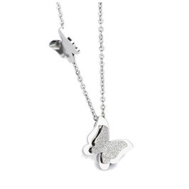 Hamburg Butterfly Necklace