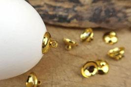 Aufhänger  - goldfarben, Ø 10 mm