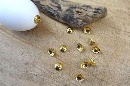 Aufhänger für Ostereier - goldfarben, Ø 10