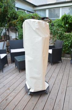 Pelletfackel Schutzhülle - Farbe Anthrazit (Bild gleich Formbeispiel)