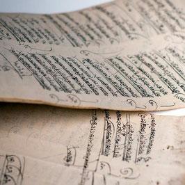 Hanf-Papier Tinte Indien
