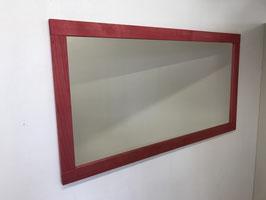 Wandspiegel in Esche Rotrosa