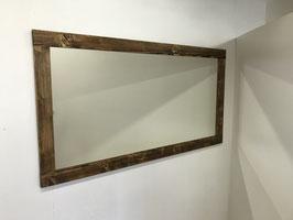 Wandspiegel in Fichte Palisander