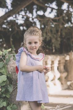 Vestido lazo rojo niña Dolce petit