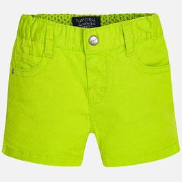 00206-081 Pantalón corto de bebe niño estilo tejano en sarga mayoral