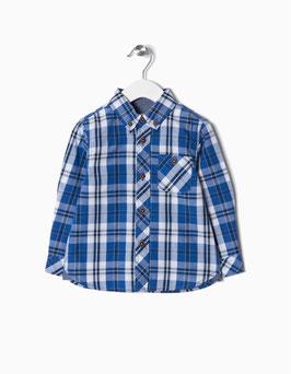 Camisa cuadros bebe niño Zippy