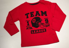 Camiseta roja bebe niño Team league Zippy