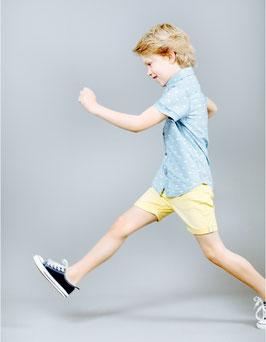 Pantalón sarga amarillo niño Zippy