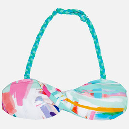 06723-042 Bikini parte de arriba cinta trenzada de niña mayoral