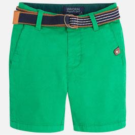 03209-047 Pantalón corto niño piqué con cinturón mayoral