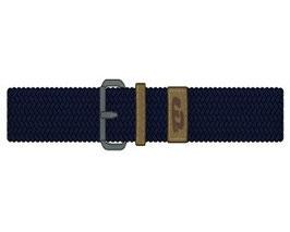 Cinturon liso elastico marino Mayoral