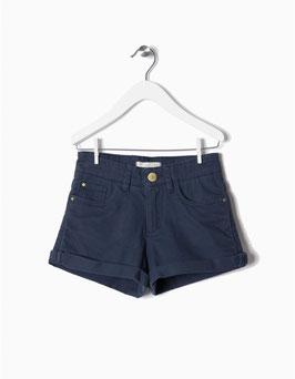 Shorts sarga azul marino niña zippy