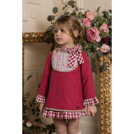 Vestido niña fresa Dolce Petit