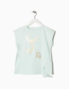 Camiseta de mariposas niña zippy