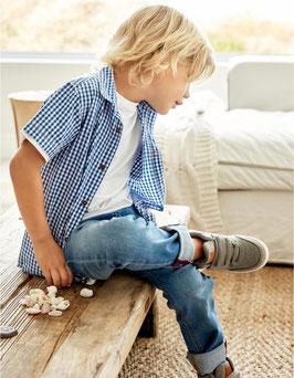 Camisa cuadros algodón niño Zippy