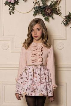 Vestido niña rosa palo Dolce Petit
