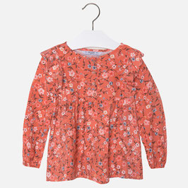 Terracota Blusa estampado flores Mayoral