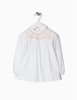 Blusa con bordados bebe niña Zippy