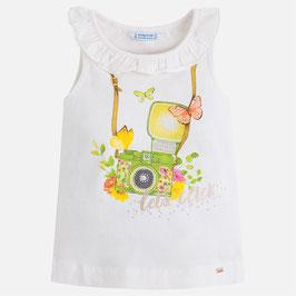 03048-027 Camiseta niña con tirantes mayoral