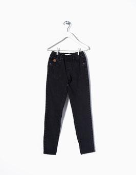 Pantalón vaquero negro niña zippy