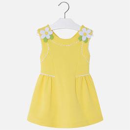 03932-064 Vestido de punto piqué para niña mayoral