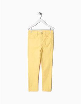 Pantalón sarga amarillo  niña zippy