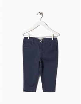 Pantalón azul marino bebe niña zippy