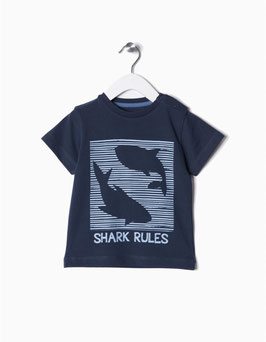 Camiseta shark bebe niño Zippy
