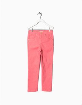 Pantalón sarga rosa niña zippy